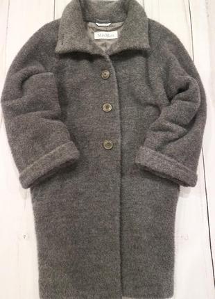 """Шуба-пальто """"чебурашка"""" (альпака) max mara, италия, s-m-l"""