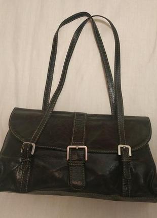 Кожаная брендовая сумка adax