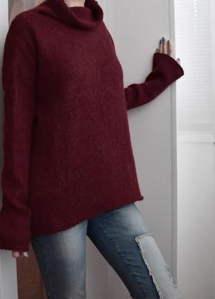 M – франция - люксовый шерстяной свитер оверсайз из королевской беби альпаки