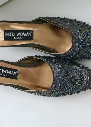 Нереально стильні мюли,туфлі