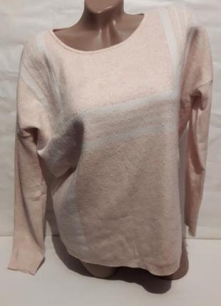 Персиковый свитерок р-р 50-52