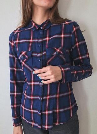 Базова сорочка(рубашка) в клітинку
