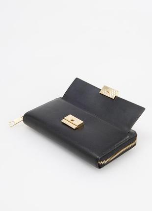 Кожаный 100% брендовый кошелек-распродажная цена!2