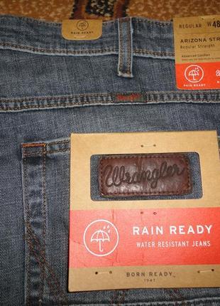 Новые джинсы wrangler original w48 l34 баталы