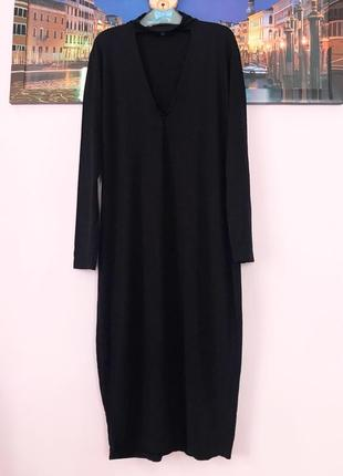 Натуральное платье с чокером , платье миди3 фото