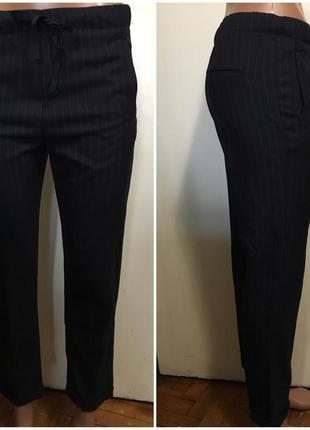 Крутые укороченные брюки джоггеры bershka