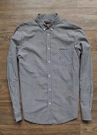 Стильная качественная рубашка ben sherman размер м