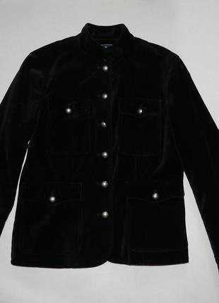 Бархатный пиджак от american размер l
