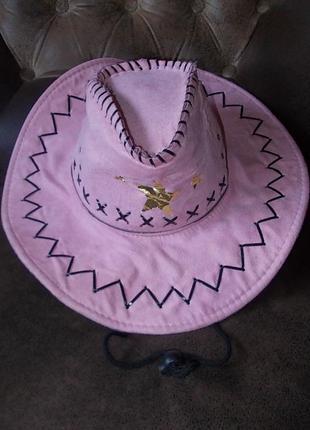 Шляпа-ковбойка маскарадная цена снижена