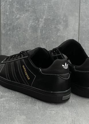 Мужские кожаные кроссовки4