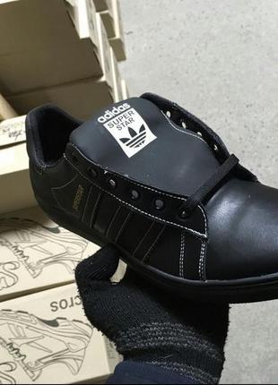Мужские кожаные кроссовки3