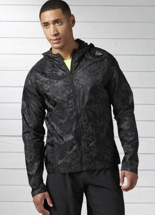 Новая ветровка/куртка reebok crossfit one series run reflect jacket! оригинал!