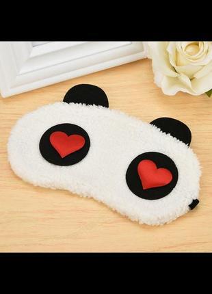 Супер повязка для глаз для комфортного сна!  панда