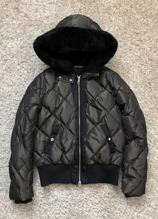 Куртка пуховик  tommy hilfiger размер - s  курточка , зимняя . оригинал
