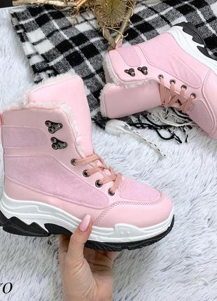 Стильные зимние ботиночки. размеры с 36 по 41