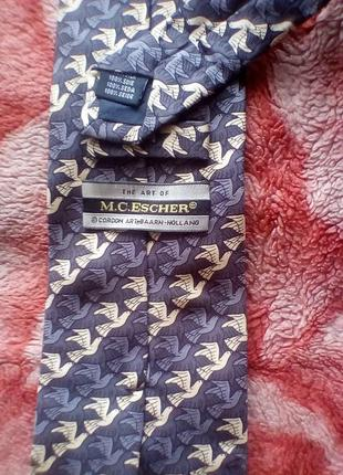 M.c.escher шёлк галстук,holland