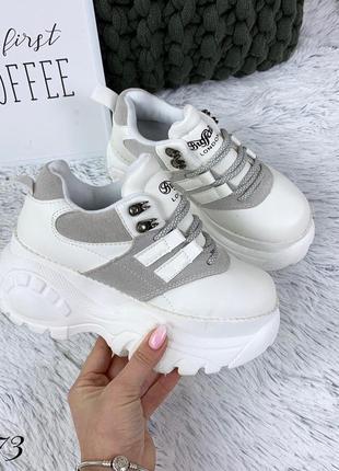 Яркие дизайнерские ботинки в стиле buffаlo london. размеры с 36 по 41