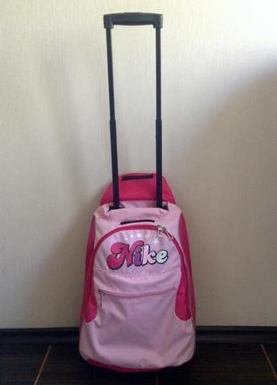 Рюкзак на колесах nike дорожная сумка