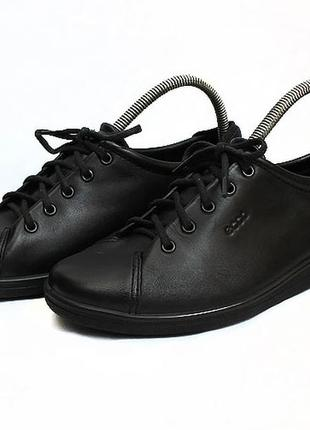 Кожаные туфли ессо. стелька 25,5 см