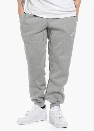 Утепленные штаны nike aw77 cuff flc pant р. xxl оригинал распродажа арт.598871-063