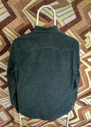 Рубашка джинсовая levis slim fit2