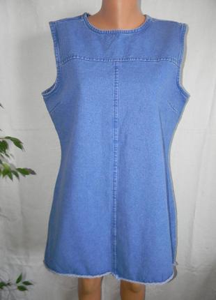 Новое джинсовое платье denim co