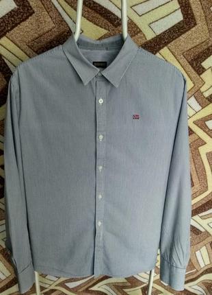 Рубашка napapijri в полоску1
