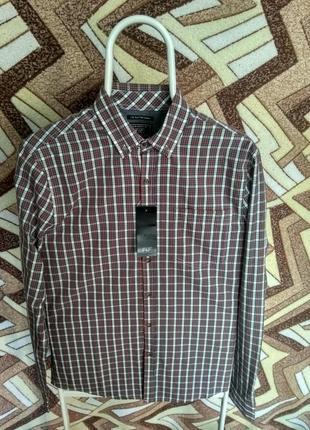 Рубашка f&f в клетку1