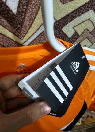 Футболка adidas белые лампасы3