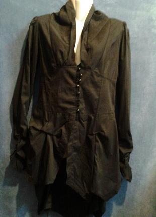 Рубашка-блуза черная  joe browns