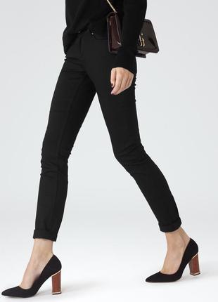 🌿 черные, базовые джинсы от reiss, хорошая длина