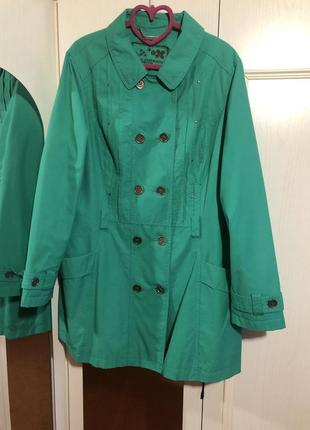 Тренч куртка ветровка плащ 54 размер