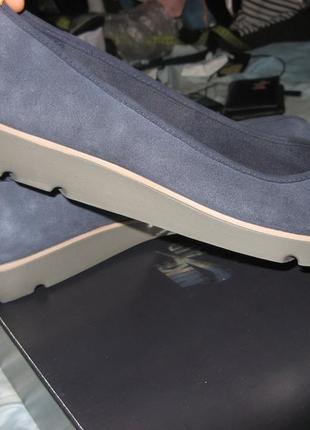Кеды балетки мокасины clarks замша оригинал новые размер 38 по стельке 24.5 см1