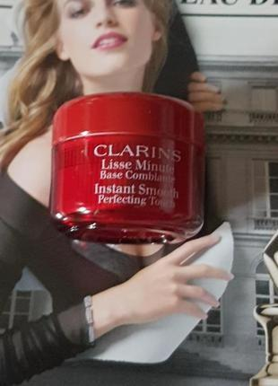 База под макияж instant smooth clarins, 4 мл.