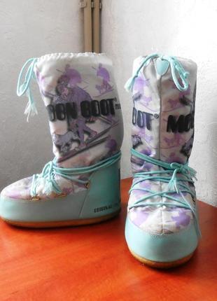 Moon boot, муны, луноходы, дутики, сноубутсы, ботинки, зимние сапоги, р.42-44