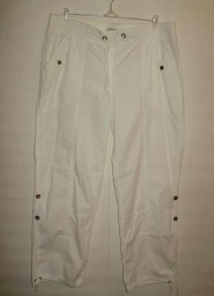 Распродажа!спортивные штаны превращаются в капри/батал/18/52-54 размера