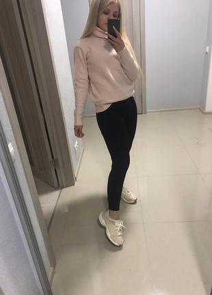Кроссовки zara + свитер bershka