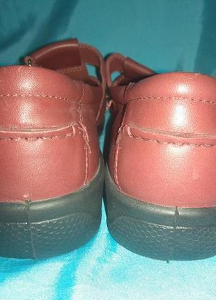 Новые кожаные туфли мокасины hotter р 39 англия4