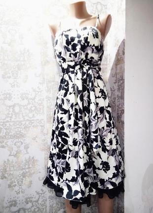 Uk 10/eur 36 новое платье со сьёмными бретелями и корсетом в области декольте