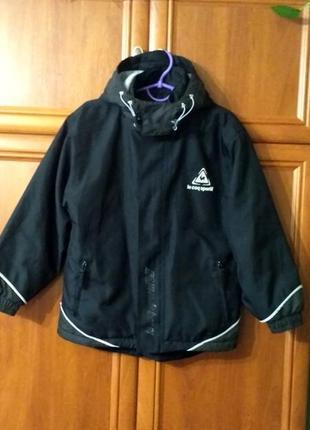 Демисезонная куртка для подростка от le coq sportif