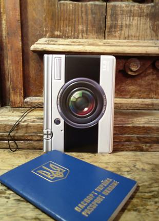 Обложка на паспорт или загранпаспорт фотоаппарат