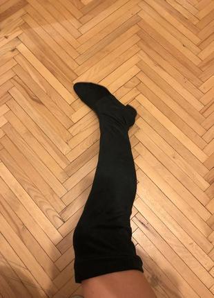 Kachorovska atelier ботфорты стрейчевые сапоги