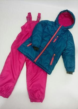 Зимний костюм термо лыжный куртка и комбинезон c&a.