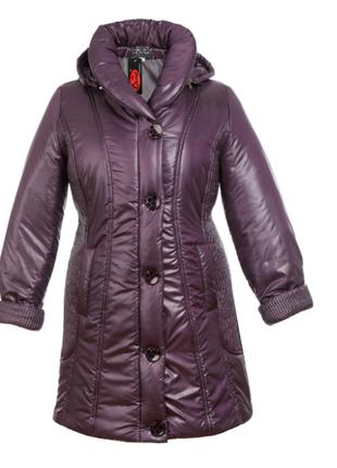 7877a0c0292 Тёплое зимнее пальто. большой размер. зимняя курточка