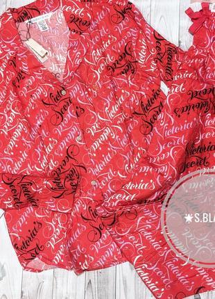 Фланелевая пижама от victoria's secret. s