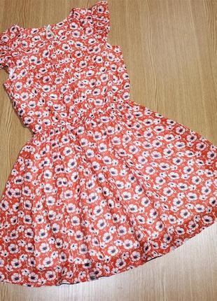 Платье летнее шифоновое для девочки