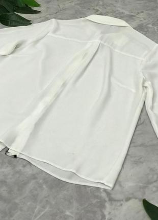 Классическая блуза с контрастной отделкой  bl1902137 papaya2 фото