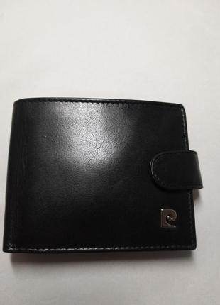 Мужской кожаный кошелек pierre cardin ys507.1 324a rfid