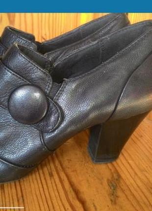 Туфли ботинки кожаные весна-осень