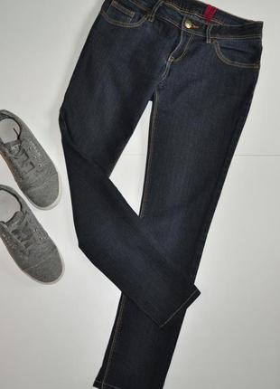 Темно-синие джинсы скинни yes- yes